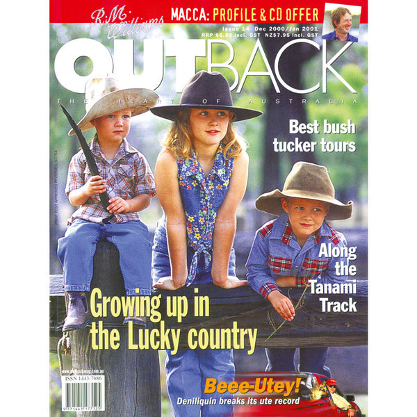 OUTBACK Magazine - Issue 14 - Dec/Jan 2001