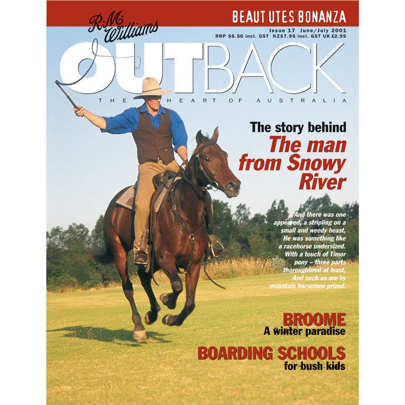 OUTBACK Magazine - Issue 17 - June/July 2001
