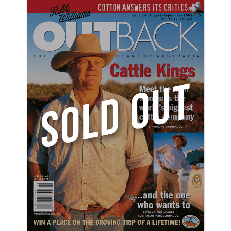 OUTBACK Magazine - Issue 18 - Aug/Sep 2001
