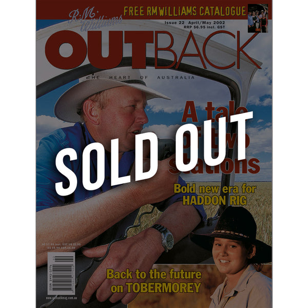 OUTBACK Magazine - Issue 22 - Apr/May 2002