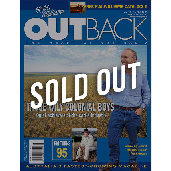 OUTBACK Magazine - Issue 29 - Jun/Jul 2003