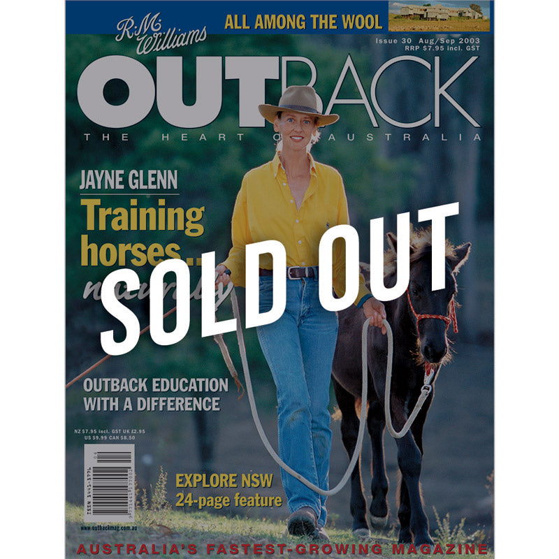 OUTBACK Magazine - Issue 30 - Aug/Sep 2003