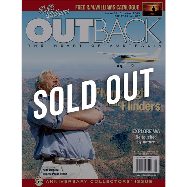 OUTBACK Magazine - Issue 31 - Oct/Nov 2003