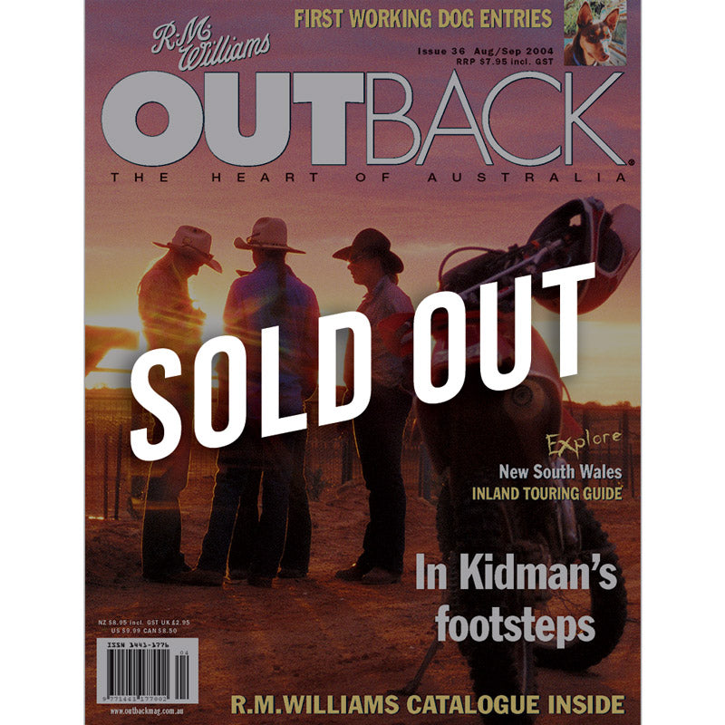 OUTBACK Magazine - Issue 36 - Aug/Sep 2004