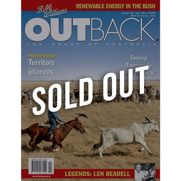 OUTBACK Magazine - Issue 40 - Apr/May 2005