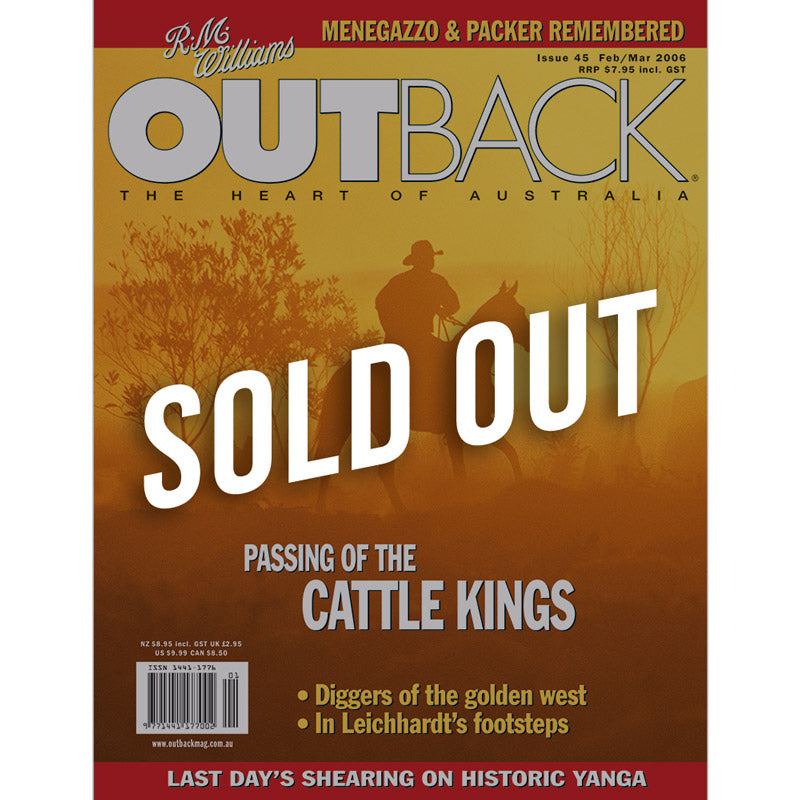 OUTBACK Magazine - Issue 45 - Feb/Mar 2006