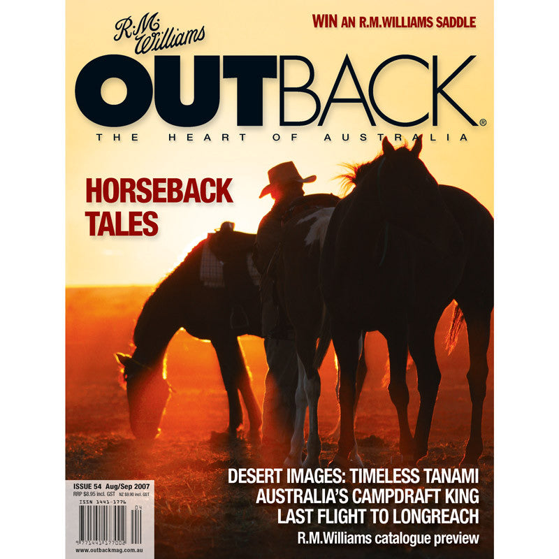 OUTBACK Magazine - Issue 54 - Aug/Sep 2007