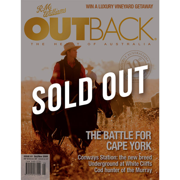 OUTBACK Magazine - Issue 61 - Oct/Nov 2008