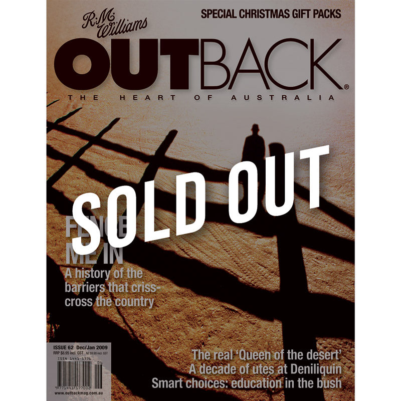 OUTBACK Magazine - Issue 62 - Dec/Jan 2009