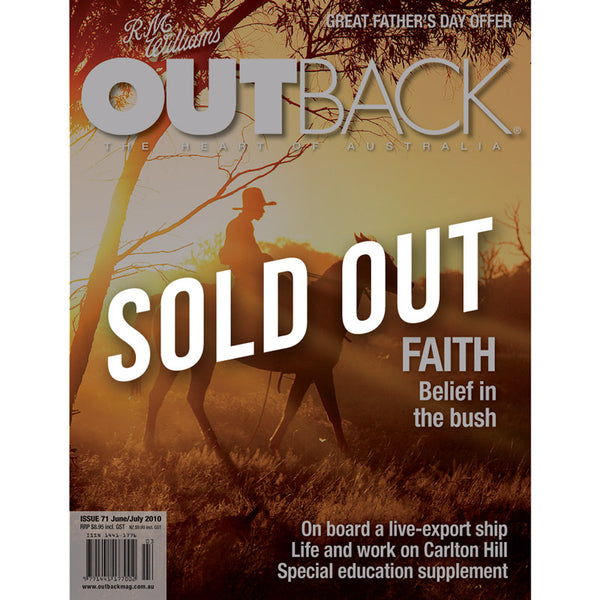 OUTBACK Magazine - Issue 71 - Jun/July 2010
