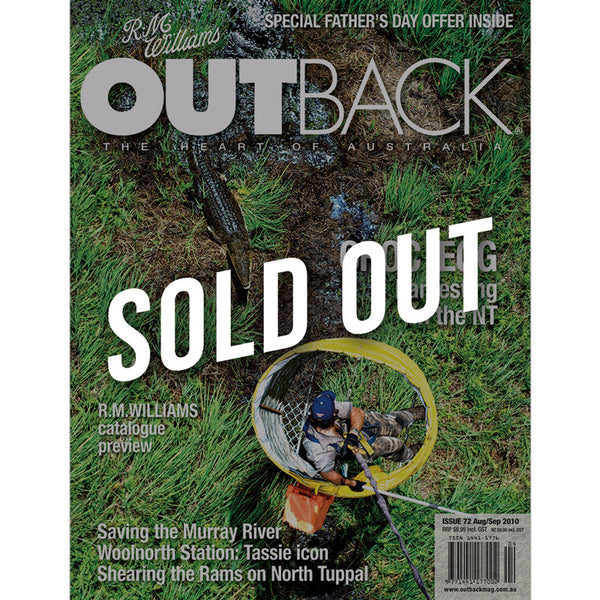 OUTBACK Magazine - Issue 72 - Aug/Sep 2010