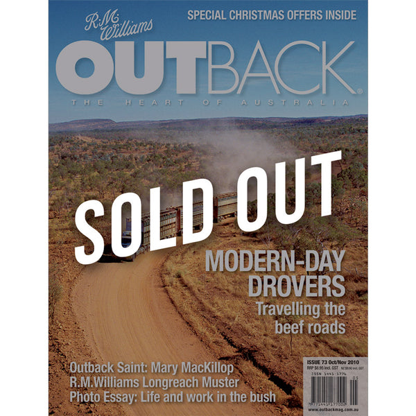 OUTBACK Magazine - Issue 73 - Oct/Nov 2010