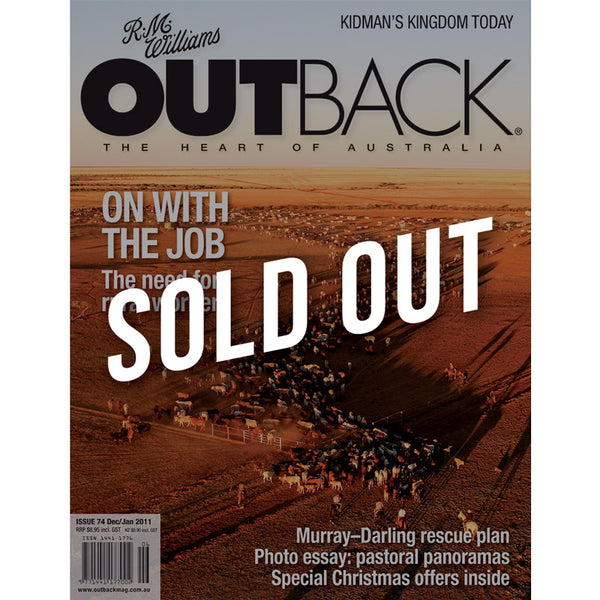 OUTBACK Magazine - Issue 74 - Dec/Jan 2011