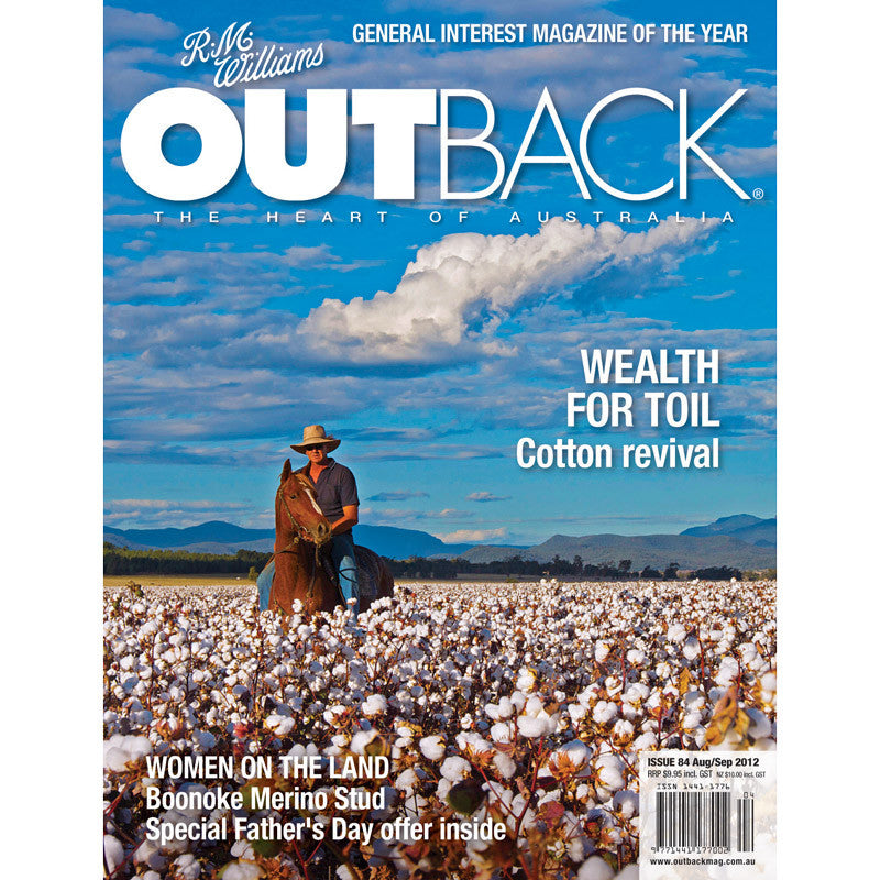 OUTBACK Magazine - Issue 84 - Aug/Sep 2012