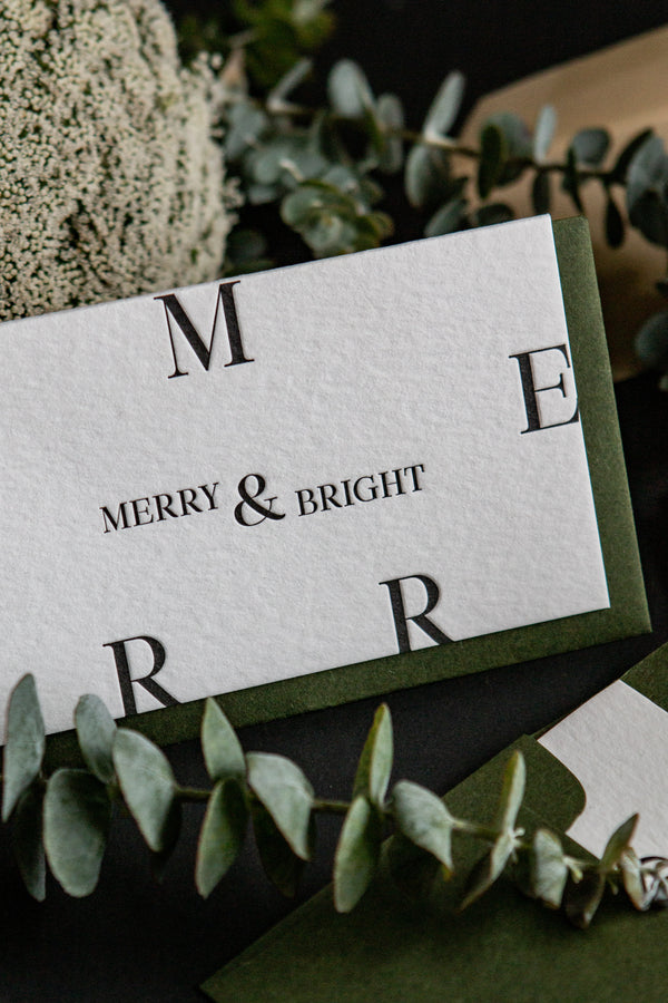 Merry & Bright // Petite Card