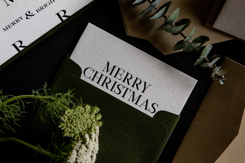 Merry Christmas // Petite Card