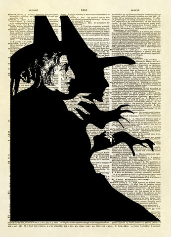 Wizard of Oz Wicked Witch Dictionary Art Print
