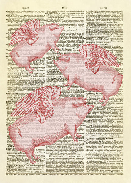 When Pigs Fly Dictionary Art Print