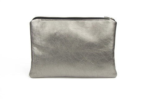 Stevie Silver - Splash Gold Oversized Coin Purse