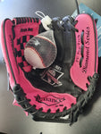 "Reliance 10"" Glove & Ball Combo Pink/Black RGBP10 REG"