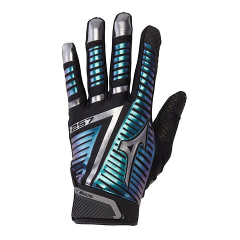Mizuno F-257 Womens Batting Gloves Black Iridescent