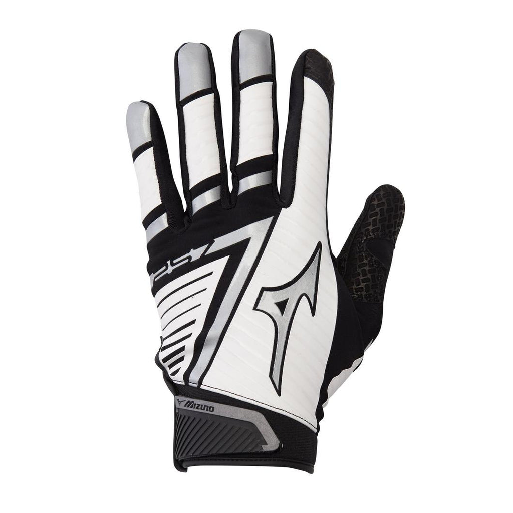 Mizuno F-257 Womens Batting Gloves White Black