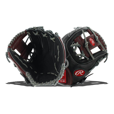 "Rawlings R9 Series 11.5"" Baseball Fielding Glove R9314-2BSG"