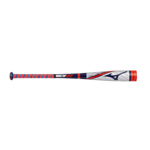 "Mizuno B19 Hot Metal Youth 2 5/8"" USA Baseball -10 Stars & Stripes"