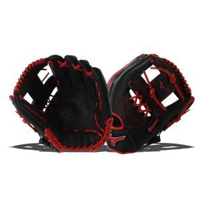 Mizuno MVP Prime SE Baseball Glove Black/Red