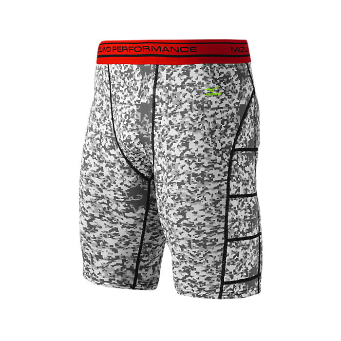 Mizuno Elite Padded Youth Sliding Shorts - Digi-Camo