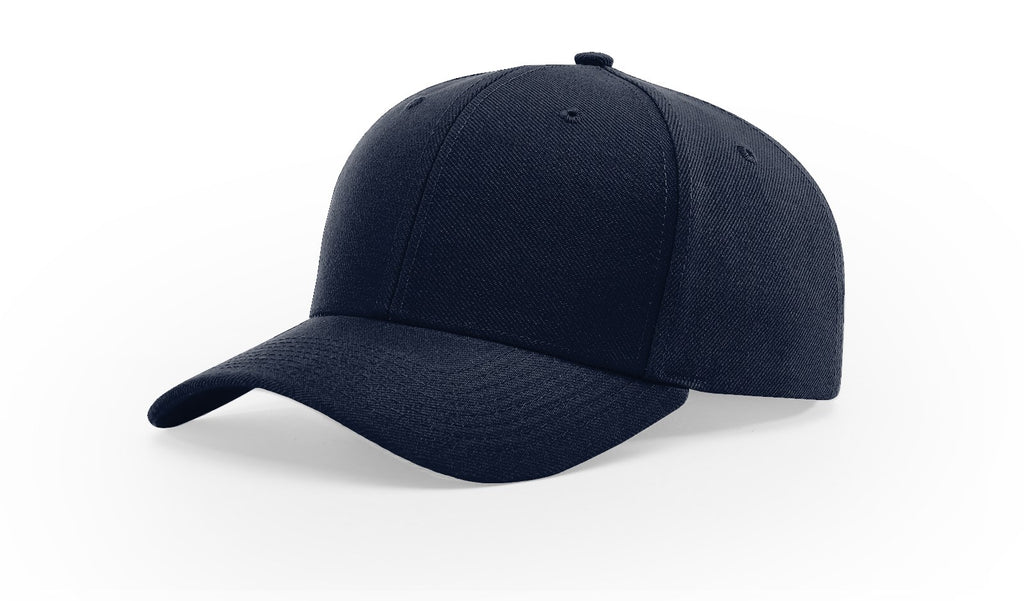 "Richardson Umpire's Cap UMP555 2 3/4"" Peak - NAVY"