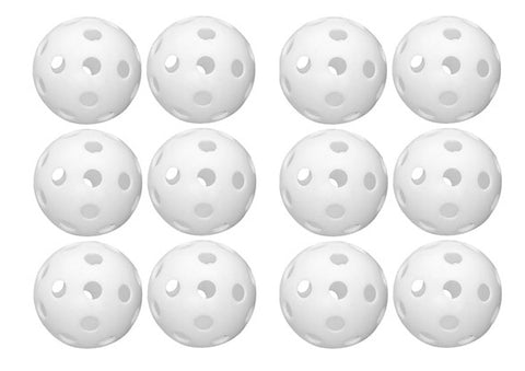 ESA Baseball Plastic Training Ball 12 Pack