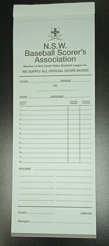 NSW Baseball line up pad
