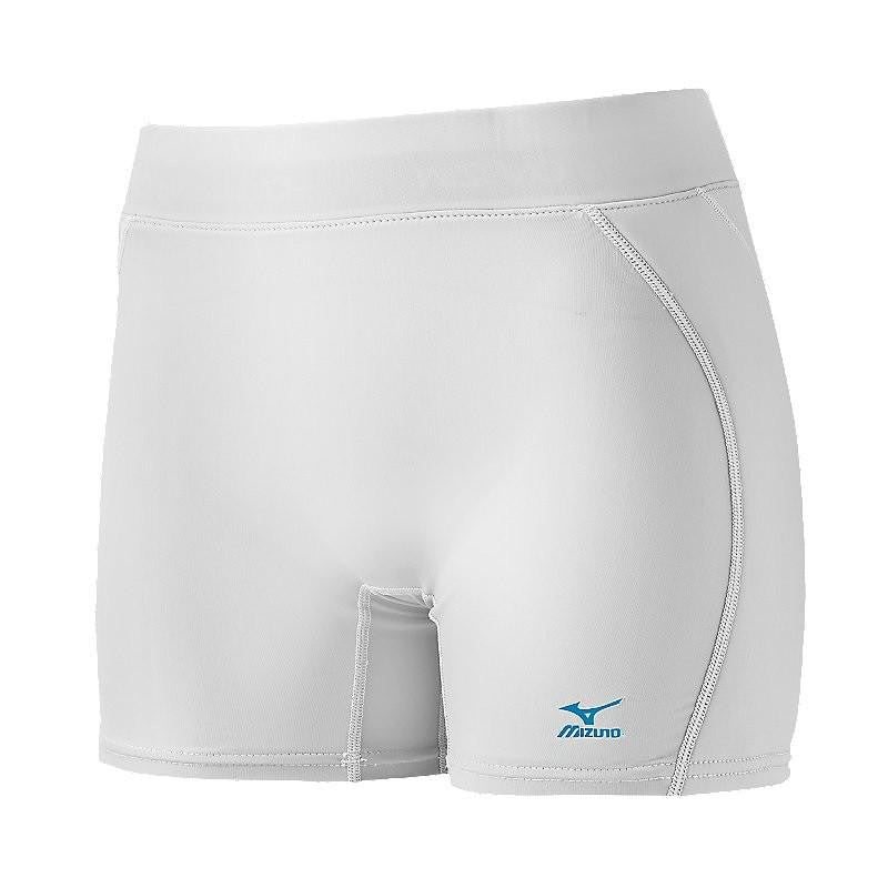 Mizuno Womens Padded Sliding Short - White