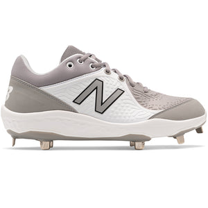 Open image in slideshow, New Balance - L3000TG5 - Metal Cleats - White/Grey