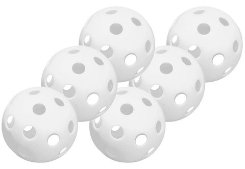"Easton 9"" Wiffle Ball (Baseball) 6 Pack"