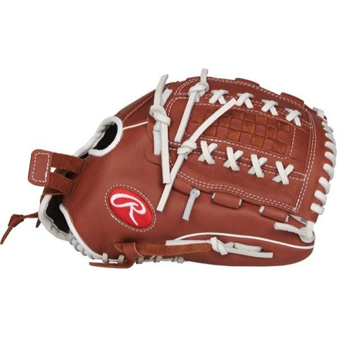 "Rawlings R9 Series 12.0"" Softball Fielding Glove R9SB120FS-18DB"
