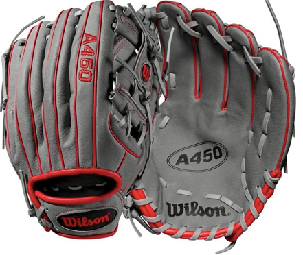 "Wilson A450 11.50"" Youth Fielding Glove - Right Hand Throw - A04RB19115"