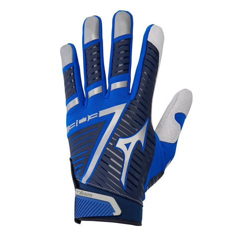 Mizuno B-303 Adult Batting Gloves Navy Royal