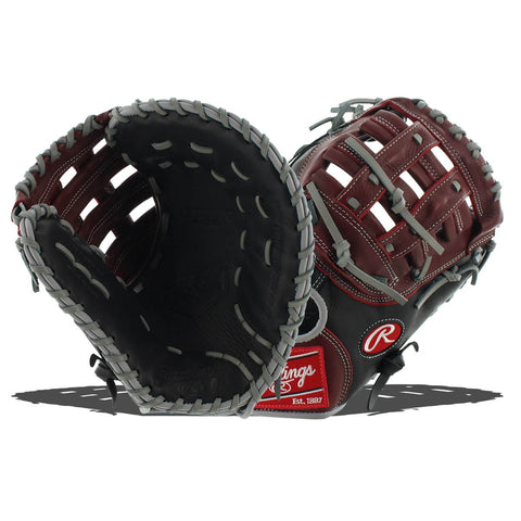 "Rawlings R9 Series 12.5"" First Base Mitt R9FM18BSG"