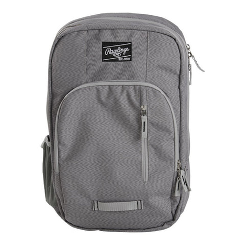 Rawlings R700 Coach's Backpack - Grey Heather