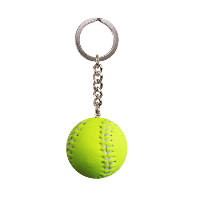 Softball Keyring