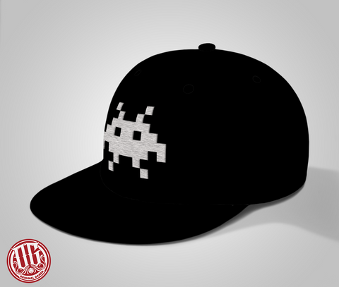 Alien Logo Snap Back Wool Hat - Original Gamer Hat - Dungeons and Dragons T-shirt