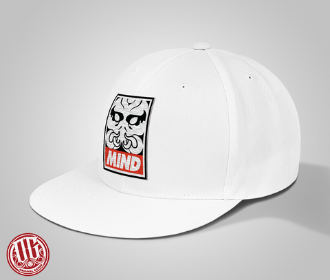 Mind Logo Snap Back Wool Hat - Original Gamer Hat - Dungeons and Dragons T-shirt