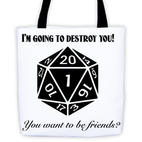 Friends - Tote bag - Original Gamer  - Dungeons and Dragons T-shirt