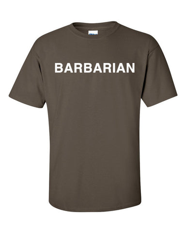 D&D Barbarian Class Shirt - Original Gamer  - Dungeons and Dragons T-shirt