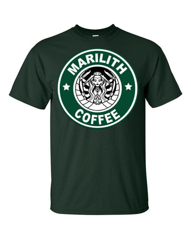 Marilith Coffee (+1 Studded Armor) - Original Gamer  - Dungeons and Dragons T-shirt