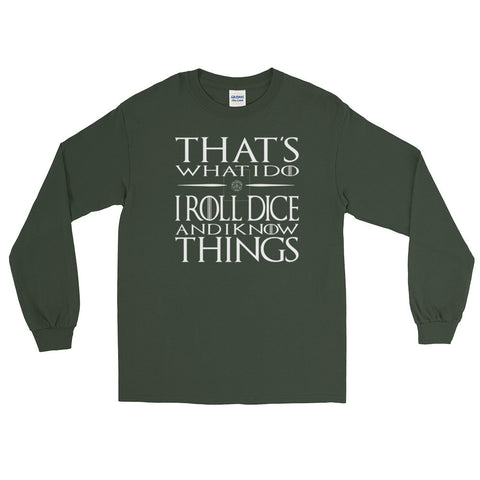 That's what I do - Dungeon Master Shirt Long Sleeve T-Shirt