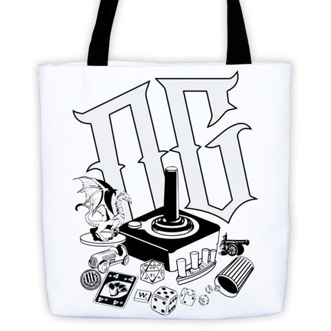 OG Blast from the Past - Tote bag - Original Gamer  - Dungeons and Dragons T-shirt