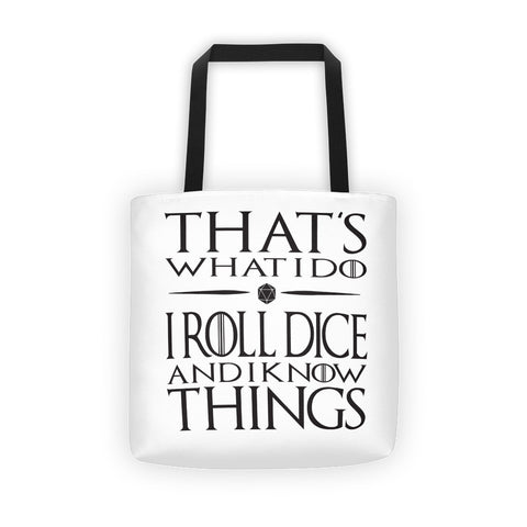 That's what I do - Dungeon Master Tote bag